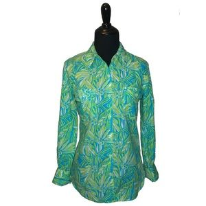 Lilly Pulitzer Tops - Lilly Pulitzer Button Front Top